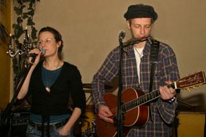 Claudia Fink & Reverend Schulzz im Duett