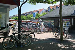 Fahrradsituation am Marktplatz
