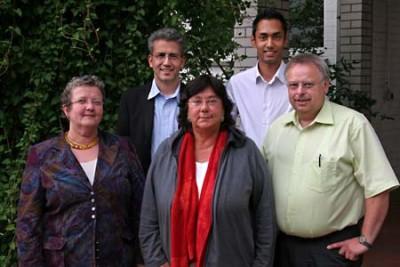 Die KandidatInnen zur Landtagswahl 2008 mit Landesvertretern